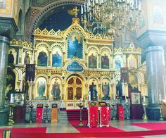 Binnenkant Uspenski kathedraal