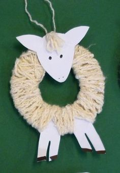 """Wool-wrapped spring lamb ("""",) > so making these in the Spring!"""