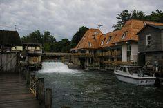 3. Fish Town Waterfall, Leland
