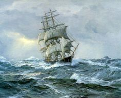 Famous Paintings of Stormy Seas | ... easter history of the sea witch the famous clipper ship sea witch was