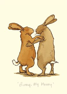 'Bunny My Honey' - by Anita Jeram