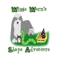 Wiggle Worm's Shape Adventure by Karen  Sills Fantasy Literature, Living In North Carolina, Work This Out, Shape Books, Learning Shapes, Farm Boys, Circle Shape, Worms, Book Recommendations