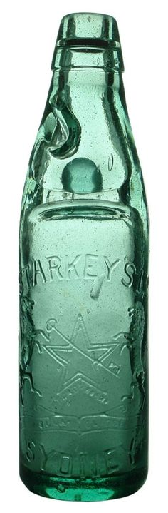 Auction 27 Preview   23   Starkey's Sydney Star Key Antique Codd Marble Bottle