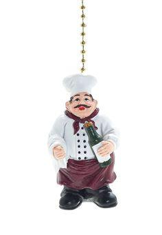 Jolly Fat Italian/French Chef Fan Pull Decorative Light Chain - - Amazon.com