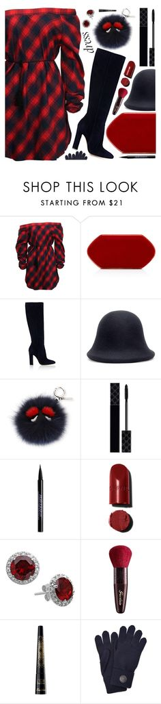 """style"" by sandevapetq ❤ liked on Polyvore featuring Gianvito Rossi, Yohji Yamamoto, Fendi, Gucci, Urban Decay, Guerlain and Dsquared2"