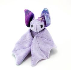 Stuffed Animal Bat Sewing Pattern Plush Toy Pattern by BeeZeeArt