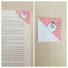 Cute rabbit bookmark♡ Napkins, Rabbit, Tableware, Cute, Diy, Dinnerware, Towels, Bricolage, Rabbits