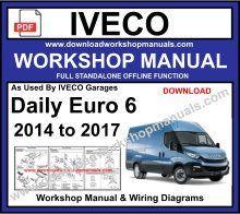 iveco daily euro 6 workshop repair manual & wiring diagrams  iveco daily diagram repair manuals wiring diagrams #3
