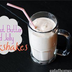 Peanut Butter & Jelly Milkshake Recipe from Disney World Recipe - ZipList