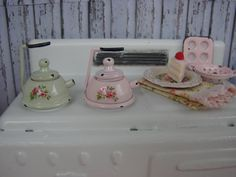 Dollhouse Miniature Shabby Chic Vintage Style by IttyBittyAndCute