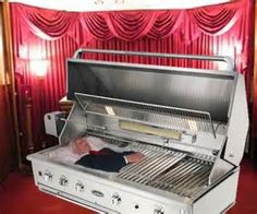 You might as well do something funny if you are going to do those horrible open casket displays. Description from elysianhunter.wordpress.com. I searched for this on bing.com/images
