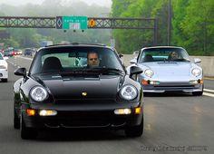 Porsche 993s cruising.  #Porsche