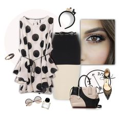 """""""Polkadot Boutique"""" by ysmn-pan ❤ liked on Polyvore featuring rag & bone, Kate Spade, Lanvin, Marc by Marc Jacobs, Piers Atkinson, Bionda Castana, Brute, Byredo, tops and skirts"""