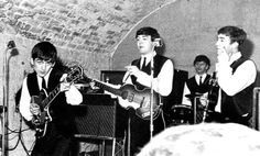 The Beatles with Ringo at the Cavern Club