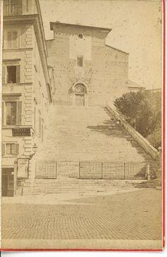 Ara Coeli 1880 Old Photos, Rome, Photographs, Urban, Memories, Architecture, Vintage, Art, Old Pictures