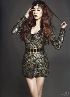 SNSD Tiffany - Harper's Bazaar Magazine January Issue '14