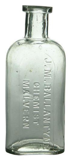 Auction 26 Preview | 706 | Ballantyne Chemist Malvern Bottle