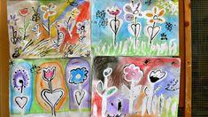 Tvoříme s dětmi  ☺: Jarní louka