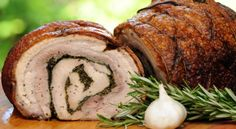 Appetizing Food Recipes: Porchetta