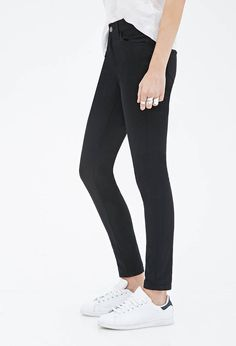 Mid-Rise - Skinny Jeans | FOREVER21 - 2055879388