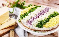 Silltårta Swedish Recipes, Sweden, Starters, Avocado Toast, Deserts, Lime, Appetizers, Food And Drink, Favorite Recipes