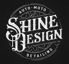 Exquisite Vintage Logo & Badge Designs by Mateusz Witczak Vintage Logo Design, Logo Vintage, Vintage Typography, Typography Letters, Typography Logo, Graphic Design, Calligraphy Alphabet, Garage Logo, Automotive Logo