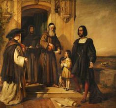 Columbus at the Door of the Convent of Santa Maria de la Rábida William Simson 1800–1847 Nationality: British
