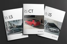 LEXUS - Brochure covers on Behance