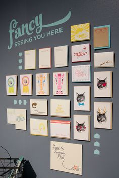 National Stationery Show 2012: Fancy Seeing You Here, Ladies of Letterpress   Photo Credit: Oh So Beautiful Paper