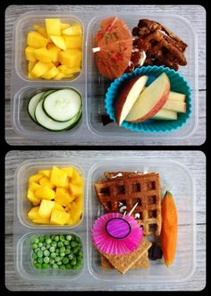 Meal ideas for MY lunch, ha.