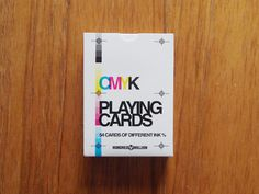 CMYK Playing Cards USPCC deck by HUNDRED MILLION — Kickstarter