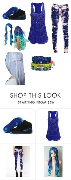 """""""All blue everything"""" by elmo-simply ❤ liked on Polyvore featuring Jane Norman, Tripp and Hollister Co."""