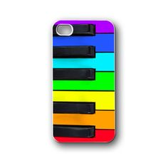 rainbow piano keys - iPhone 4/4S/5/5S/5C, Case - Samsung Galaxy S3/S4/NOTE/Mini, Cover, Accessories,Gift