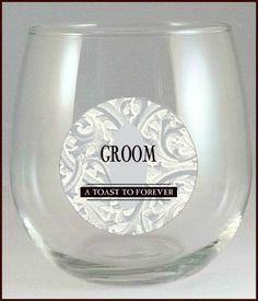 Bride and Groom Champagne Glass Decals - Bride and Groom Wine Glass Decals - Wine Charms - Glass Tags - Glass Clings - Wedding Wine Charms