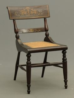 Baltimore Neo Classic Side Chair With Painted Decoration