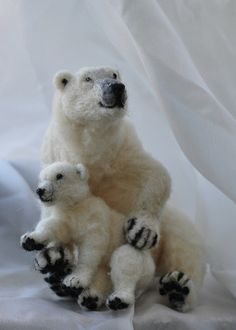 polar bears.... by daria.lvovsky, via Flickr. If were not carefull, theyWILL, be just be stuffed animals! Give a shit people!!!!