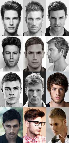 Aparência do cabelo  Penteados Masculinos  Cortes masculinos  penteados masculinos, men hair, man hair, mens hair www.shop4men.com.br