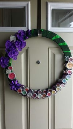 Scentsy tester wreath...recycled my old testers I love this think I'm gonna make more!!! zawislak.scentsy.us