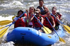 River's End Rafting at Kern River in Bakersfield.  So FUN!