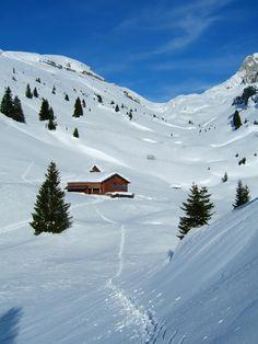 Refuge de Bostan in Haute-Savoie