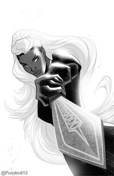 Dazzler Marvel, Marvel Xmen, Marvel Art, Marvel Comics, Black Panther Storm, Black Panther Marvel, Storm Marvel, Storm Xmen, Black Comics