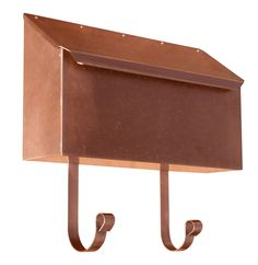 provincial collection wall mount brass mailboxes horizontal u2013 mailbox big box 209 free shipping