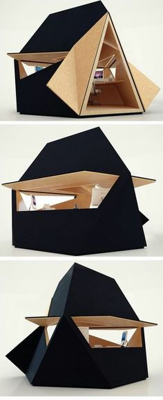Compact office module