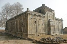 Malla Shah Masjid, Srinagar, Kashmir. Built by Mughals