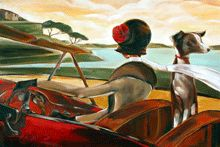 :: Trish Biddle Fine Art :: Road to Cannes ::Classic ::
