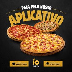 Related image Best Picture For pizza de frigideira For Your Taste You are looking for something, and Food Graphic Design, Food Menu Design, Restaurant Menu Design, Flyer Design, California Pizza, California Style, Social Media Template, Social Media Design, Promo Pizza