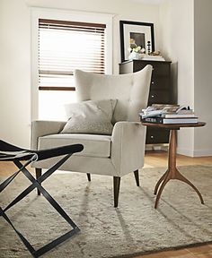 Room & Board - Adams Round End Table - Modern End Tables - Modern Living Room Furniture Modern End Tables, Wood End Tables, Modern Chairs, Living Room End Tables, Living Room Chairs, Living Room Furniture, Adirondack Chairs For Sale, Classic Furniture, Chair And Ottoman