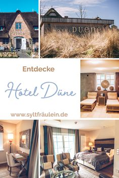 Hotel Duene: Holidays between wind, waves & wellness - Discover Hotel Düne in Rantum on Sylt: I would like to share my hotel recommendations with you so - Barcelona Restaurants, Travel Tags, Great Hotel, Relaxing Day, Going On Holiday, Beaches In The World, Holiday Destinations, Germany Travel, Beach Trip