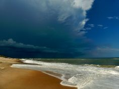 Incoming storm over Rodanthe, NC in July 2012. Inspired Skies Photography