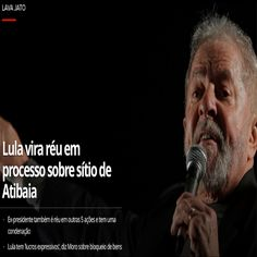 Lula vira Réu pela Sexta Vez [G1] http://g1.globo.com/pr/parana/noticia/moro-aceita-denuncia-contra-o-ex-presidente-lula-e-mais-por-caso-envolvendo-sitio-em-atibaia.ghtml ②⓪①⑦ ⓪⑧ ⓪① #LulaNaCadeia